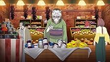 Shopping con il giovane maestro a nove code.