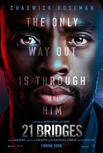21 Bridges 2019 Full English Movie Download 720p In Hd