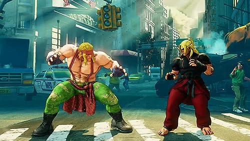 Street Fighter V: Alex