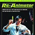 Jeffrey Combs and David Gale in Re-Animator (1985)