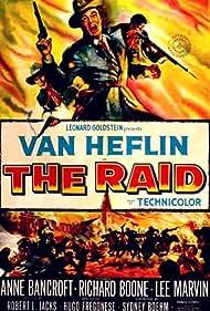 Van Heflin, Lee Marvin, and Richard Boone in The Raid (1954)