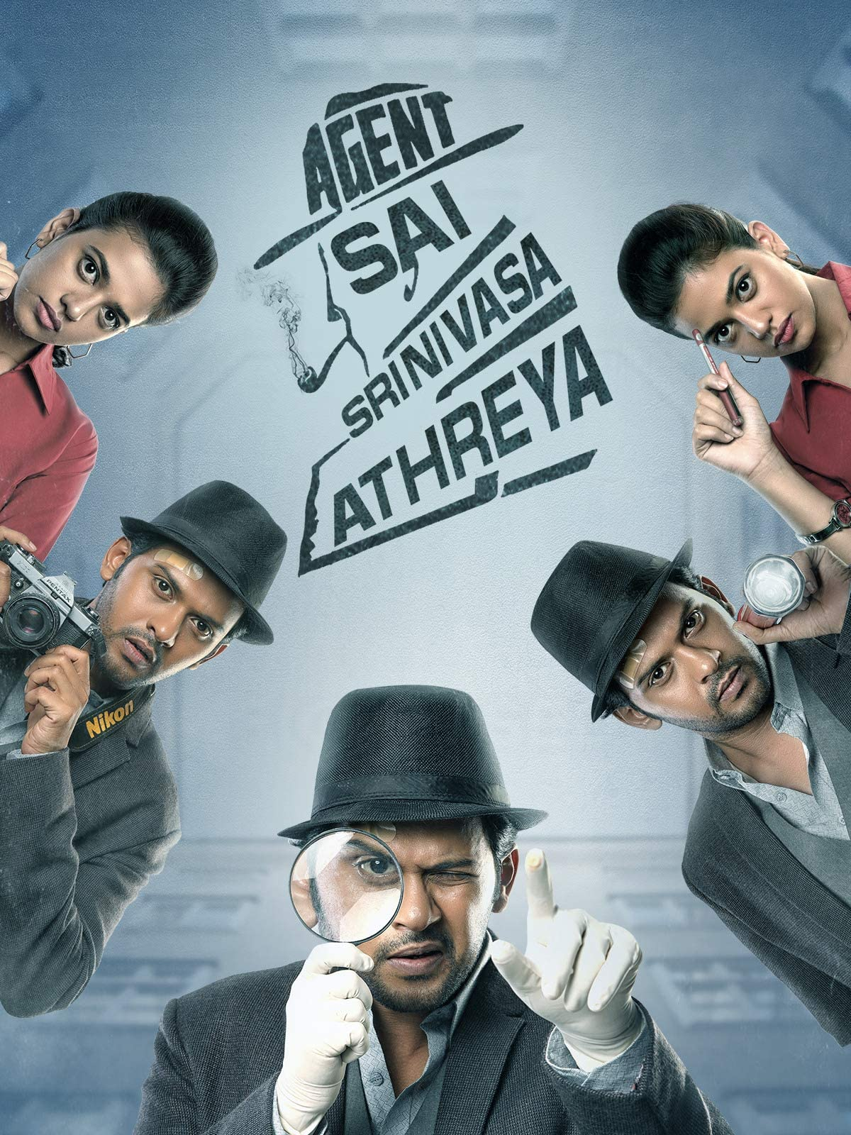 Agent Sai Srinivasa Athreya (2019) Hindi Dubbed