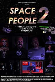 Mike Goodreau, Rebecca Howland, Adam Griswold, Collin Snider, Marco Salerno, Randy Veraguas, Hannah Heckman-McKenna, Mike Weiner, Jonathan Neves, Mary Higgins, and Sabrina Cuffie in Space People 2 (2017)