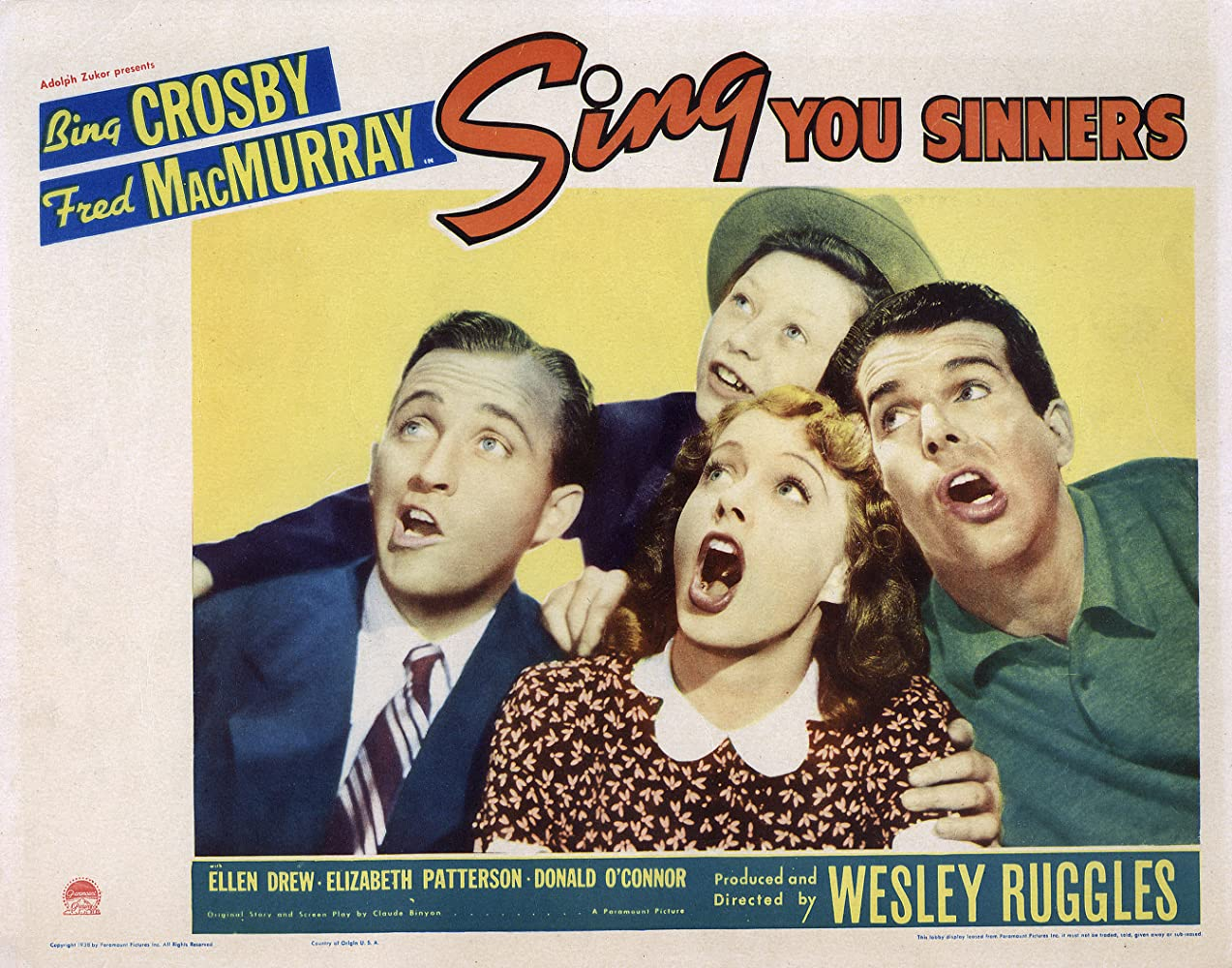 Image result for sing you sinners 1938