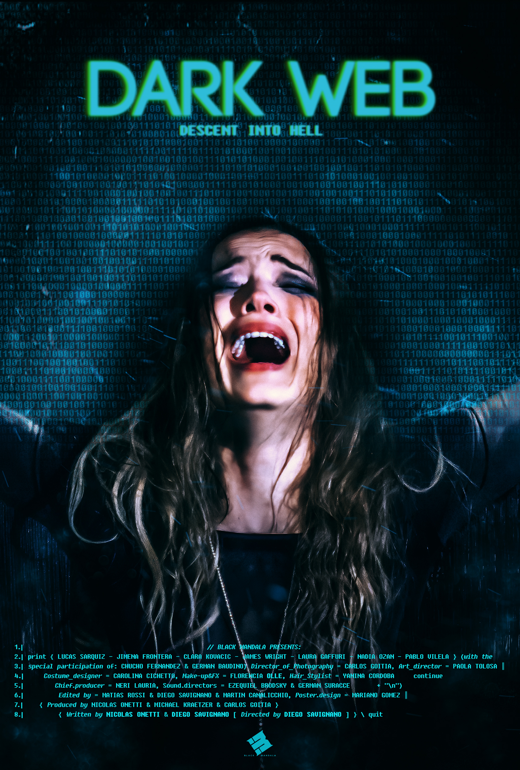 Dark Web: Descent Into Hell (2021) Bengali Dubbed (Voice Over) WEBRip 720p [Full Movie] 1XBET