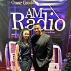 Omar Gooding and Phylicia Morgan at an event for AM Radio (2021)