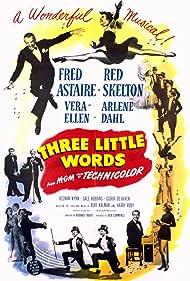 Fred Astaire, Arlene Dahl, Red Skelton, and Vera-Ellen in Three Little Words (1950)
