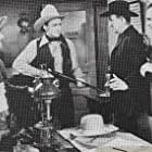Roy Rogers, Jay Novello, Addison Richards, and Hal Taliaferro in Sheriff of Tombstone (1941)