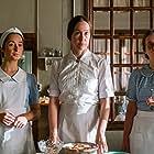 Merete Mærkedahl, Ulla Vejby, and Mia Højgaard in Søminen (2021)