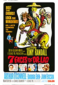 Barbara Eden and Tony Randall in 7 Faces of Dr. Lao (1964)