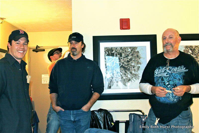 Ryan McDonald, Joshua Miller, and Mark Woodring in Interest (2013)