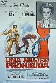 Una mujer prohibida Poster