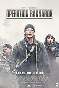 Jonas Malmsjö, Per Ragnar, and Bahar Pars in Operation Ragnarök (2018)