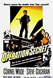 Operation Secret(1952) Poster - Movie Forum, Cast, Reviews