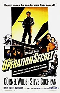 Watch online adults movie hollywood Operation Secret none [DVDRip]