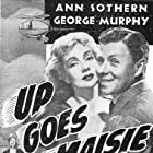 George Murphy and Ann Sothern in Up Goes Maisie (1946)