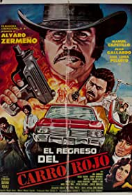 Manuel Capetillo hijo, Juan Gallardo, Ana Luisa Peluffo, and Álvaro Zermeño in El regreso del carro rojo (1984)