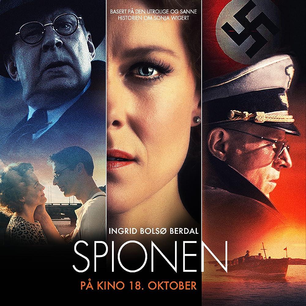 Rolf Lassgård, Alexander Scheer, and Ingrid Bolsø Berdal in The Spy (2019)