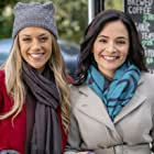 On the Love at First Bark set with Jana Kramer