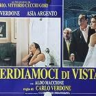 Asia Argento, Aldo Maccione, and Carlo Verdone in Perdiamoci di vista (1994)