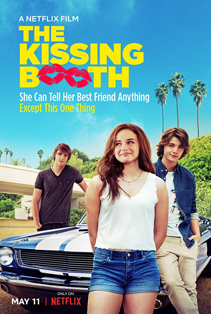 The Kissing Booth 2018 Hindi Dual Audio 720p HDRip 800MB ESubs x264 AAC