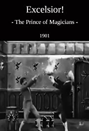 The Magician and the Human Pump Poster
