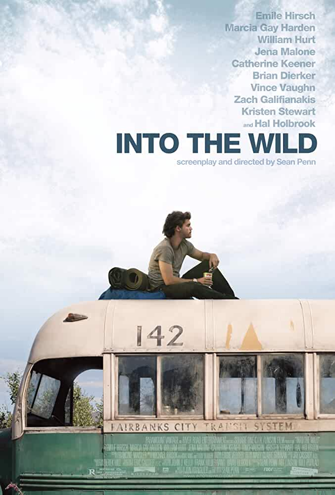18+ Into the Wild (2007) Hindi-Eng (Dual Audio) DD5.1 | BluRay 720p -Top Rated Movies  Nominated for 2 Oscars.