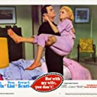 Tony Curtis and Virna Lisi in Not with My Wife, You Don't! (1966)