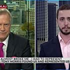 Andrew Bolt and Calum Thwaites in The Bolt Report (2011)