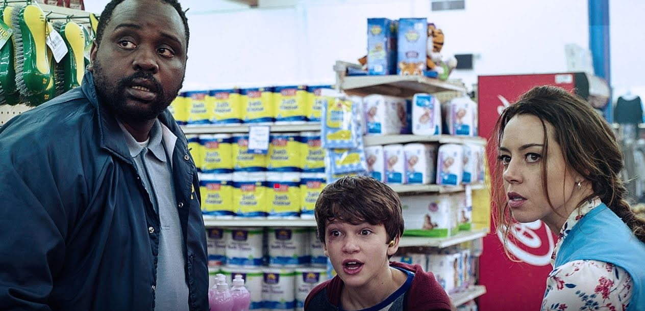 Aubrey Plaza, Brian Tyree Henry, and Gabriel Bateman in Child's Play (2019)