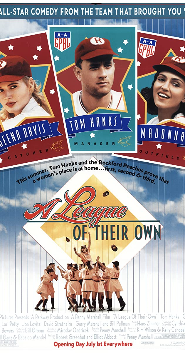 Moterų lyga / A League of Their Own filmas online nemokamai