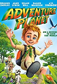 Adventure Planet Poster