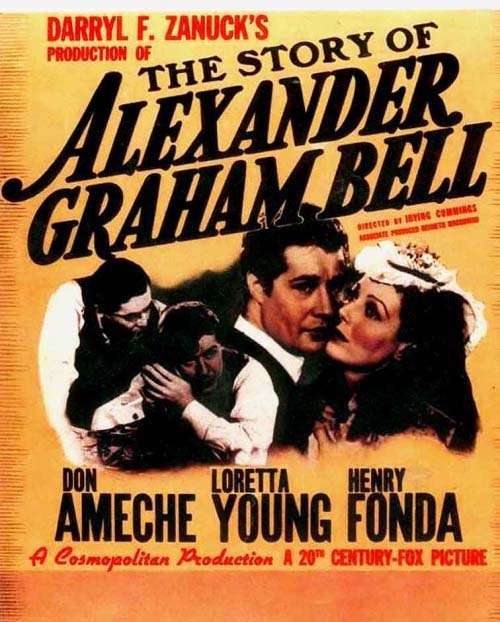 Image result for the story of alexander graham bell 1939 ameche