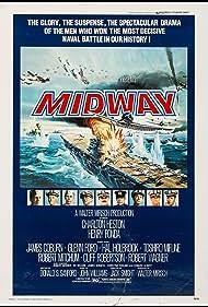 Henry Fonda, Charlton Heston, Robert Mitchum, James Coburn, Glenn Ford, Hal Holbrook, Toshirô Mifune, Robert Wagner, and Cliff Robertson in Midway (1976)