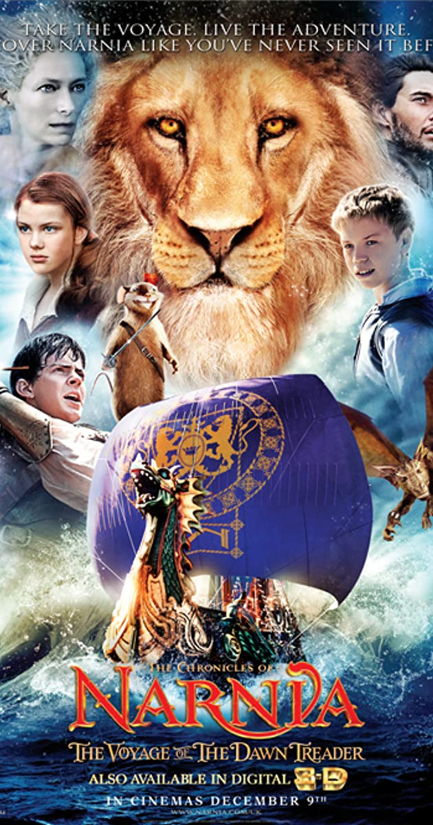 Subtitle of The Chronicles of Narnia: The Voyage of the Dawn Treader