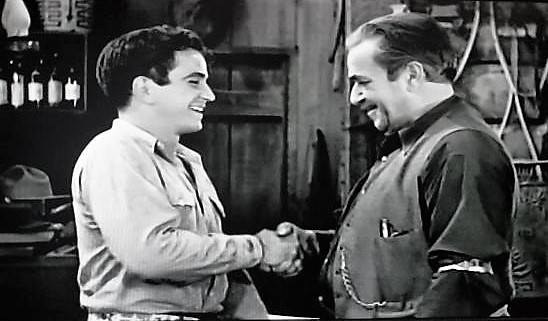 Noah Beery Jr. and Noah Beery in The Trail Beyond (1934)