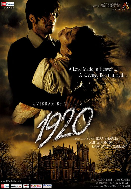 1920 (2008) Hindi Movie 400MB DVDRip 480p Download