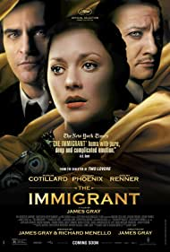 Joaquin Phoenix, Marion Cotillard, and Jeremy Renner in The Immigrant (2013)