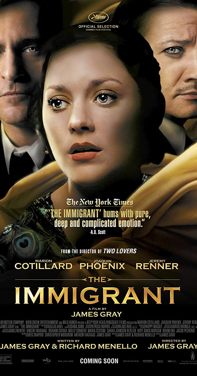 Play or Watch Movies for free The Immigrant (2013)