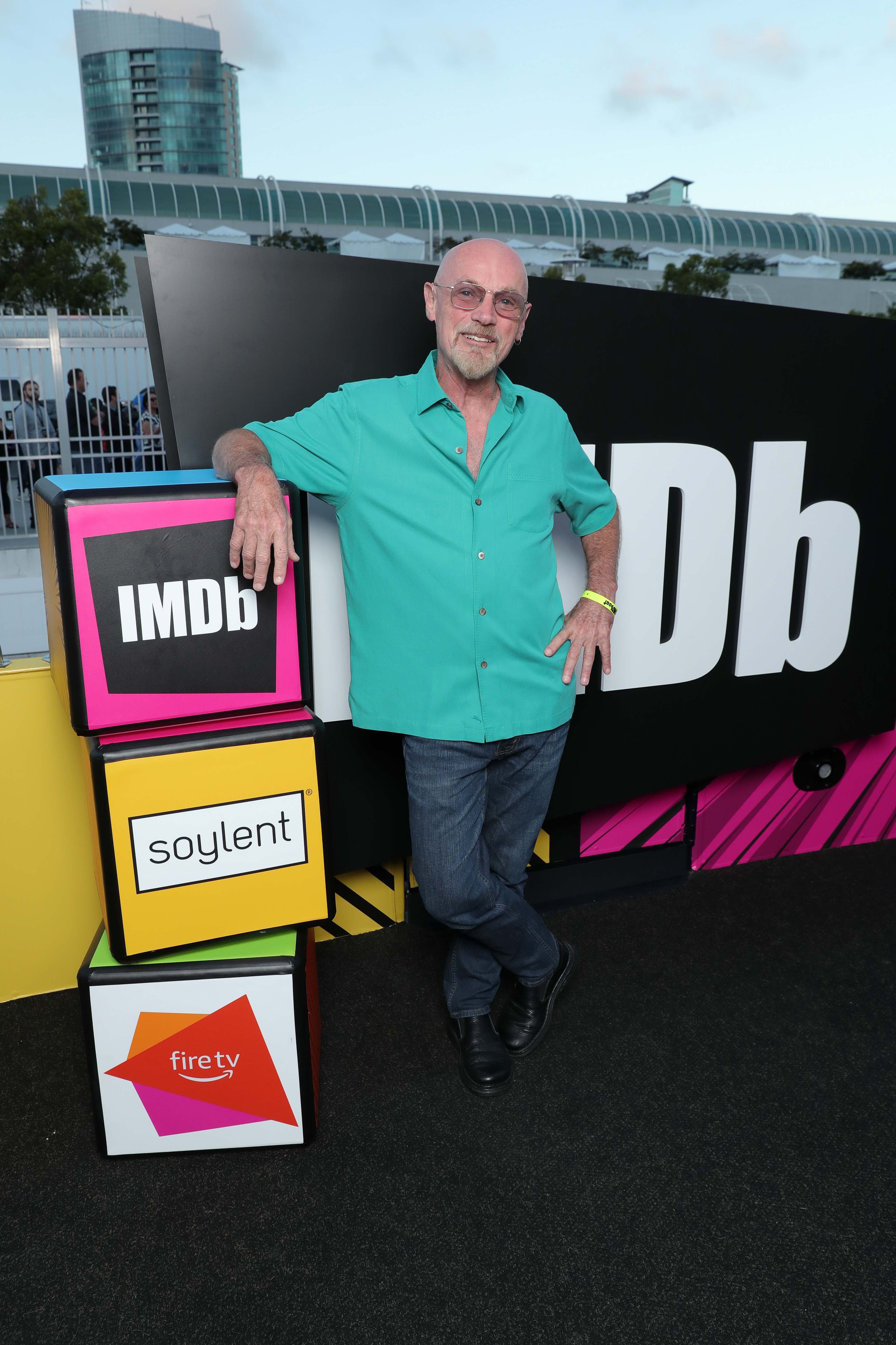 Jim Starlin at an event for IMDb at San Diego Comic-Con (2016)