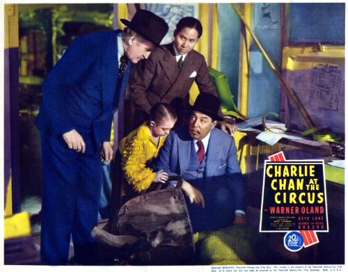 George Brasno, Francis Ford, Keye Luke, and Warner Oland in Charlie Chan at the Circus (1936)