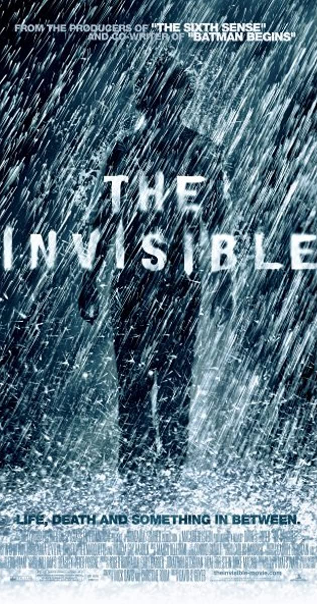 Subtitle of The Invisible