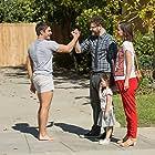 Rose Byrne, Seth Rogen, Zac Efron, Elise Vargas, and Zoey Vargas in Neighbors 2: Sorority Rising (2016)