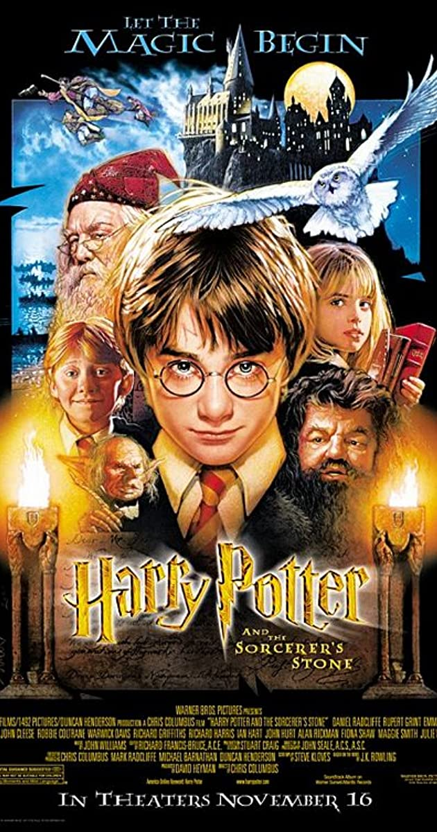 harry potter dvd boks dansk tale