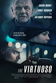Anthony Hopkins, Abbie Cornish, and Anson Mount in The Virtuoso (2021)
