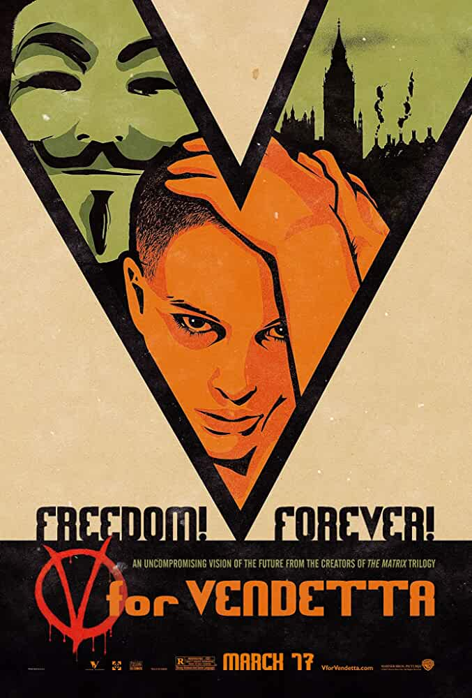 V for Vendetta (2005) Hindi Dubbed
