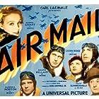 Ralph Bellamy, Gloria Stuart, Pat O'Brien, Lilian Bond, Russell Hopton, and Slim Summerville in Air Mail (1932)
