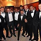 Steven Bauer, Kader Ayd, Cisco Reyes, Bokeem Woodbine, Malik Barnhardt, Avelawance Phillips, Karim Lasmi, and Miguel Maia in Five Thirteen (2013)