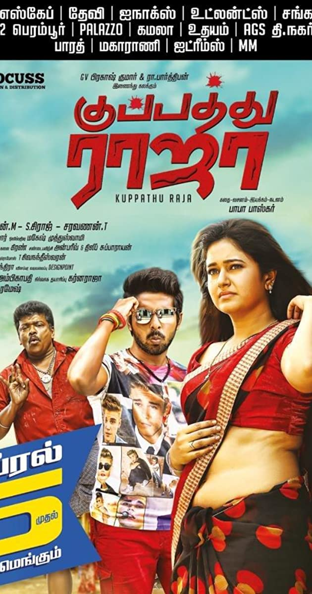 Kuppathu Raja yts torrent magnetic links