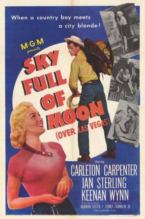 Jan Sterling and Carleton Carpenter in Sky Full of Moon (1952)